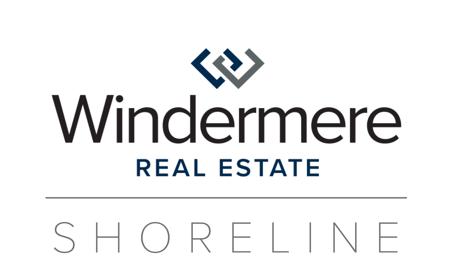 Windermere Real Estate/Shoreline Logo